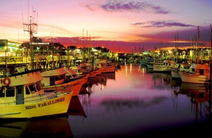 San Francisco Fisherman's Wharf Sunset