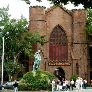 Salem Witch Museum Entrance