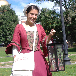 Costumed Tour Guide for Freedom Trail