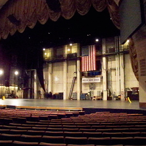Madison Squre Garden Theatre Stage