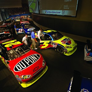 Race Similator at NASCAR Hall of Fame