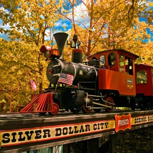 Silver Dollar City Train