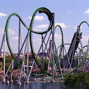 Islands of Adventure - The Hulk Ride