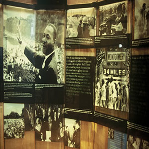 MLK Jr. Historic Site Display