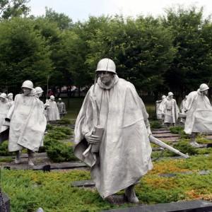 Korean War Veteran Memorial Statue
