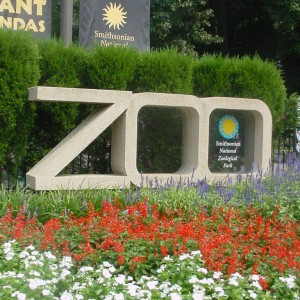 National Zoo Sign