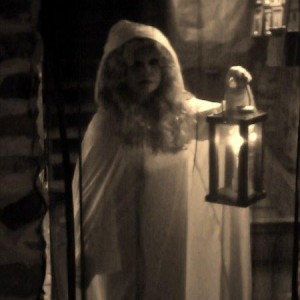 Ghost Image of a Lady with a Lantern